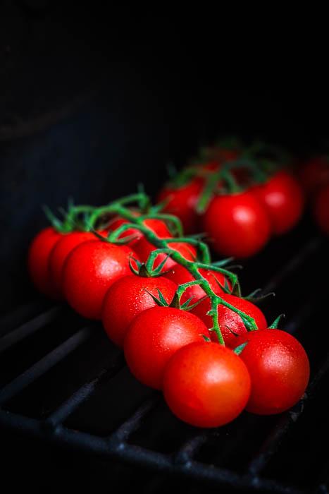 Geroosterde tomaten salade
