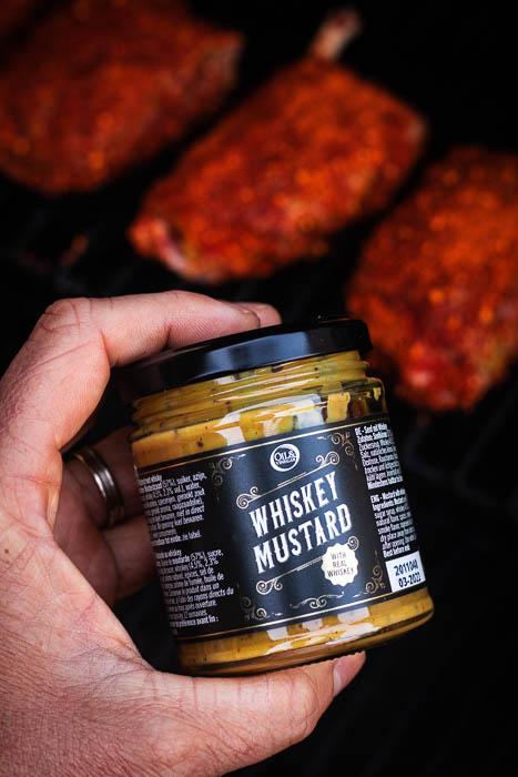 whiskey mustard oil and vinegar