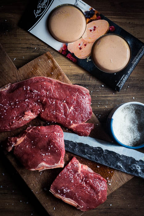 Steak au foie gras