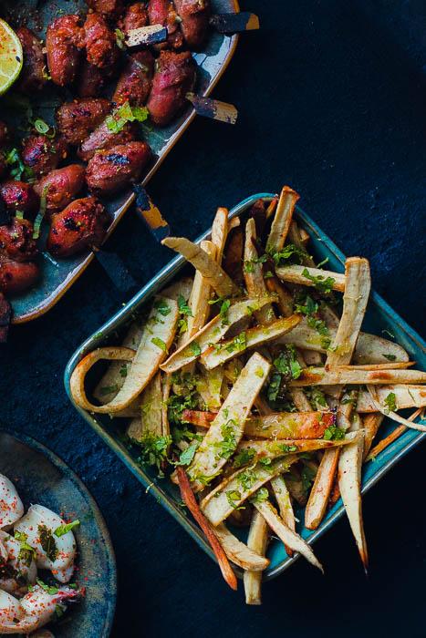 Thai style parsnip