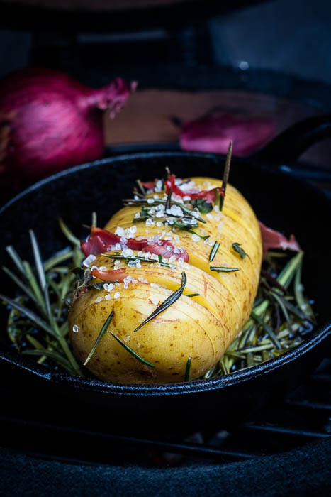 Rosemary Hasselback Potato