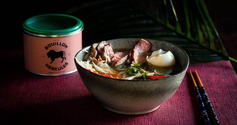Smoky Beef Ramen – hemelse bowl noodles