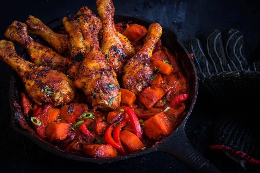 Sweet potato stew – West-Afrikaanse sidedish