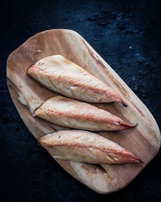 Gerookte makreel filet