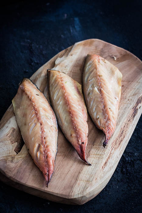 Smoked mackerel filet