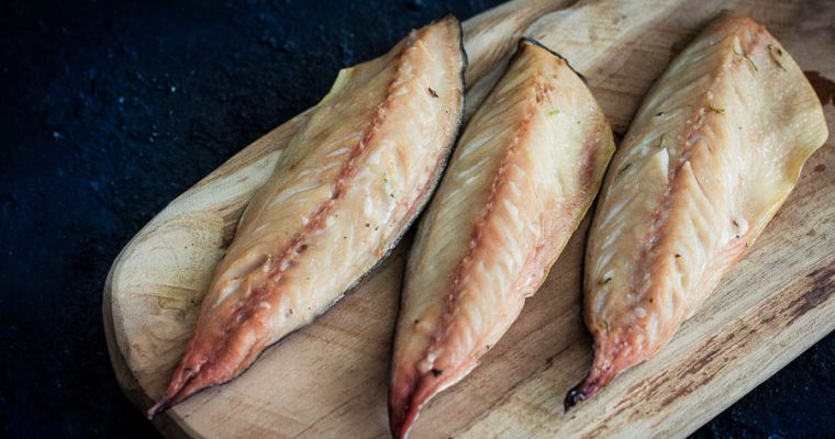 Gerookte makreel filet – Homemade smoked mackerel