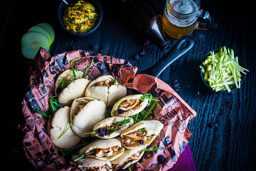 Chicken thigh Pita – Kippendij pita met curry