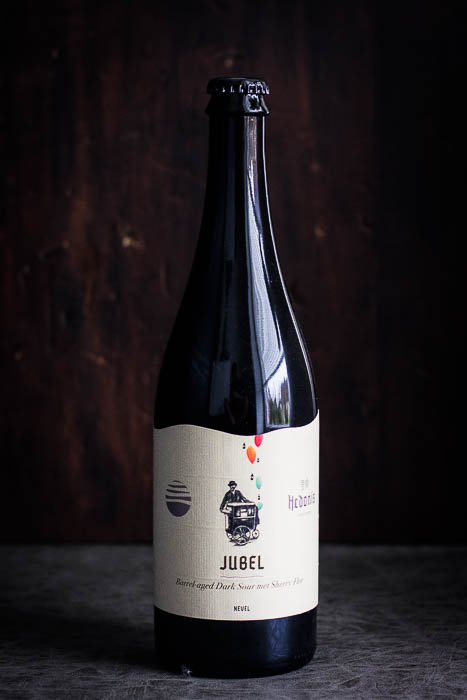 Jubel Bier dark sour ale