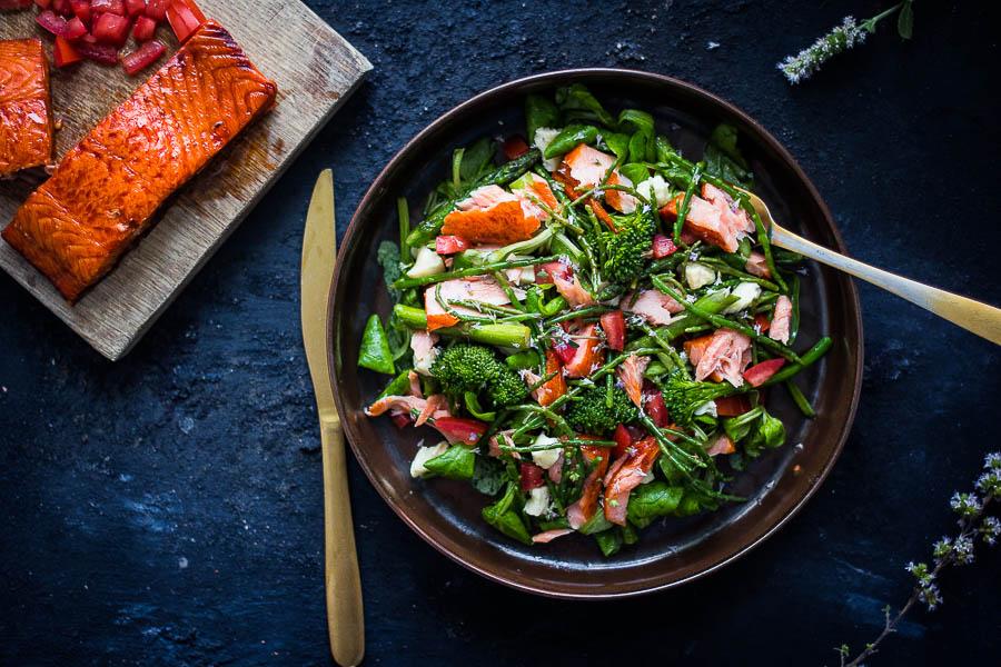 Smoked Salmon Salad – Salade met gerookte zalm