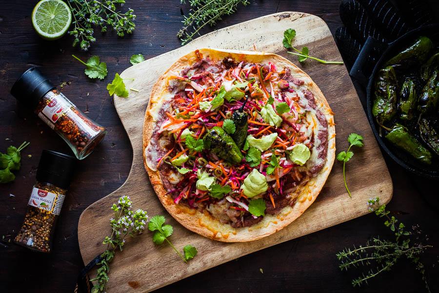 Tlayuda – Mexican Tortilla Pizza Madness