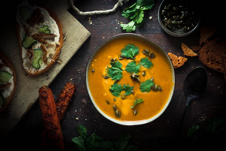 Delicious Grilled Carrot Soup that Will Change Your life