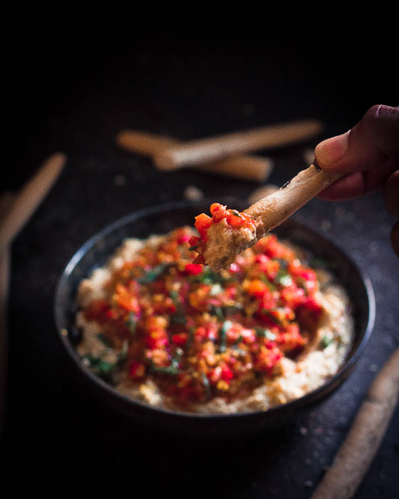Grilled Mahammara