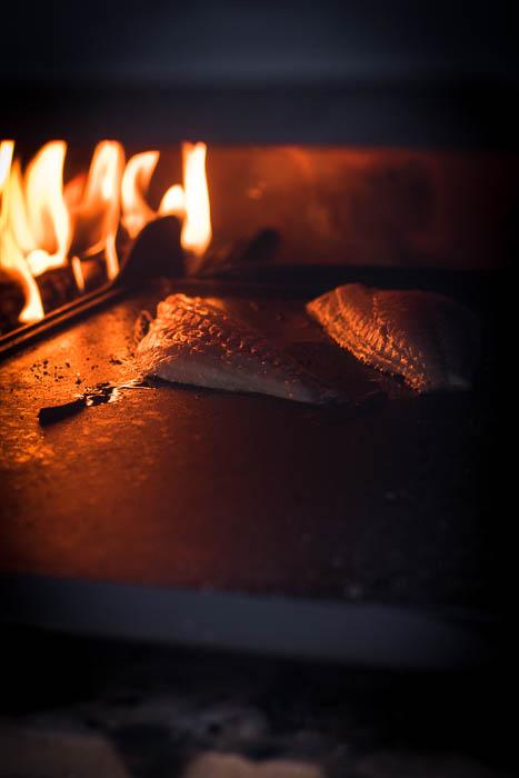 Gegrilde dorade toast