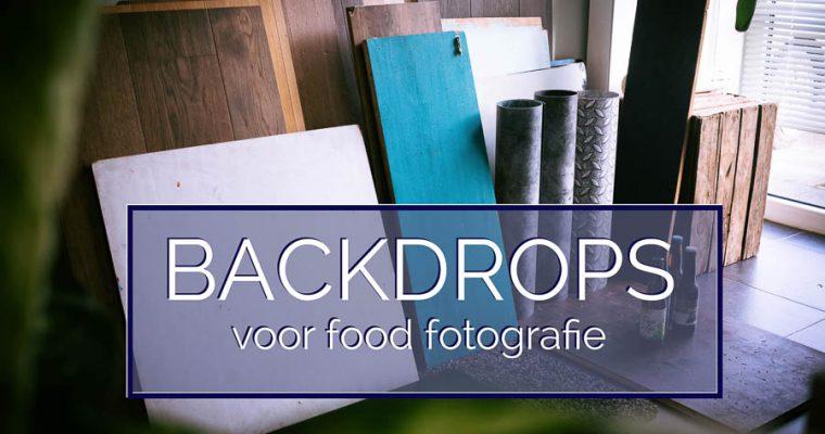 Backdrops voor Food Fotografie kiezen – Deel 1