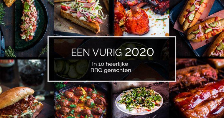 Een vurig 2020: overzicht in 10 BBQ gerechten