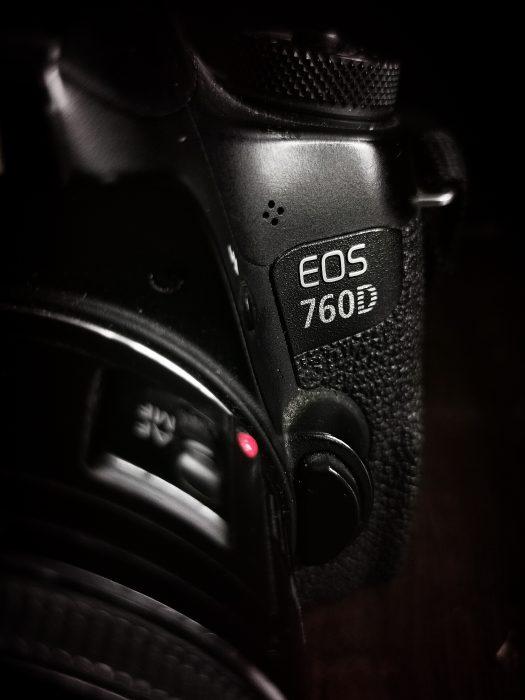 Food fotografie apparatuur canon eos 760d