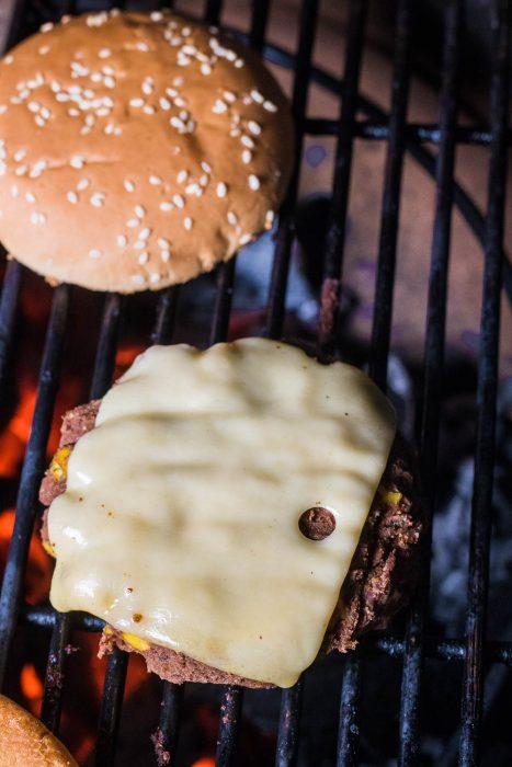 vegetarische bbq burger