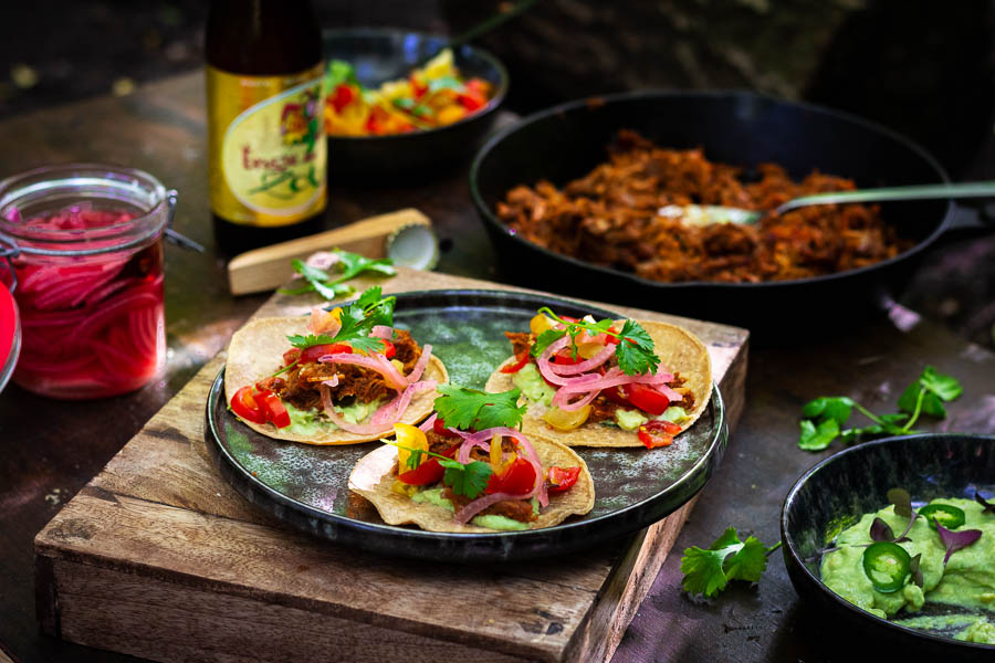 Pulled Pork Tacos – #Fingerfood madness