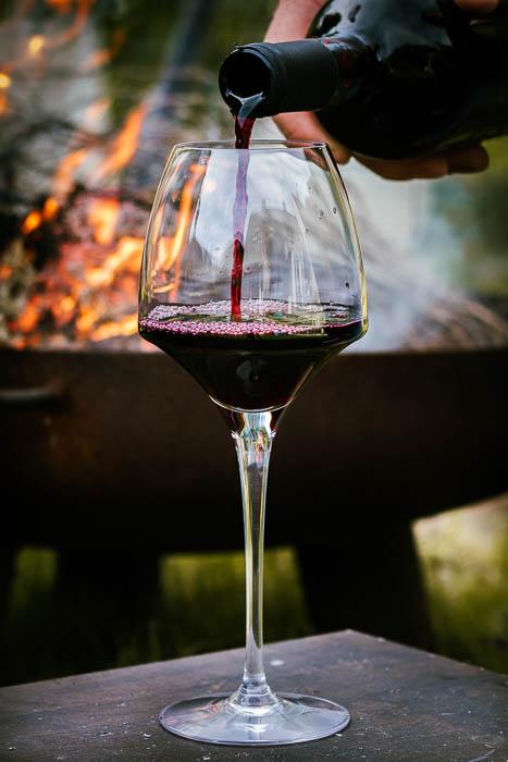 BBQ wijnen kiezen rode wijn